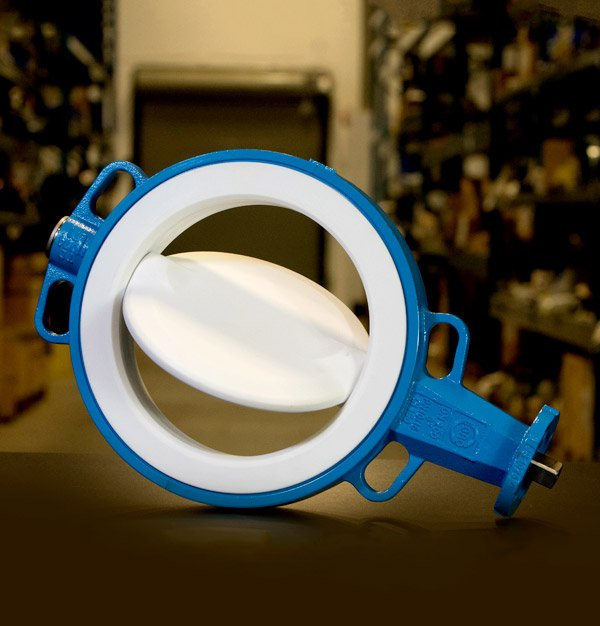 EBRO Armaturen — Resilient seated butterfly valve especially designed for water applications. Certified by DVGW.