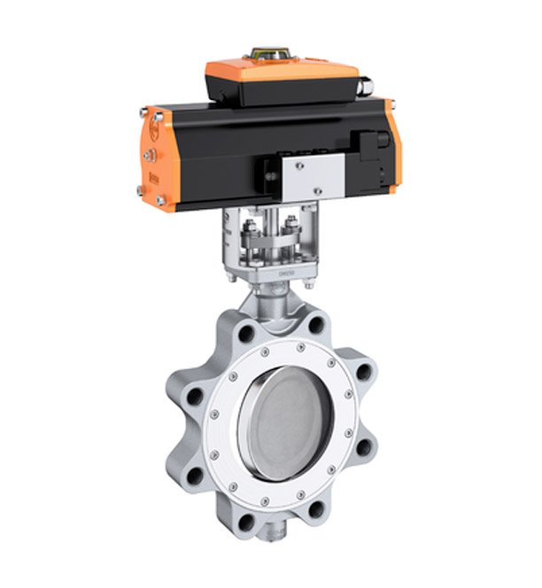 EBRO Armaturen — A high-performance lug type valve suitable for high pressure and high temperature applications